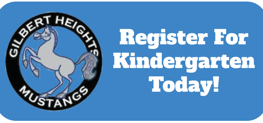 Register for Kindergarten by June 1st